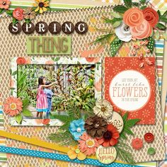 Layout created with {Spring Woods} Digital Scrapbook Collection by Digital Scrapbook Ingredients and Kristin Cronin-Barrow available at Sweet Shoppe Designs http://www.sweetshoppedesigns.com//sweetshoppe/product.php?productid=33561&cat=&page=1 #digitalscrapbookingredients
