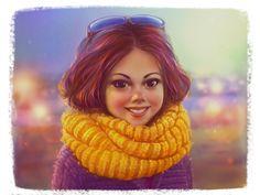 Portrait by Sergey Sobin