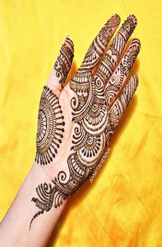 Explore Best Mehendi Designs and share with your friends. It's simple Mehendi Designs which can be easy to use. Find more Mehndi Designs , Simple Mehendi Designs, Pakistani Mehendi Designs, Arabic Mehendi Designs here. Henna Hand Designs, Mehandi Designs, Full Mehndi Designs, Mehndi Designs Finger, Palm Mehndi Design, Indian Mehndi Designs, Mehndi Designs For Girls, Mehndi Designs For Beginners, Mehndi Design Photos