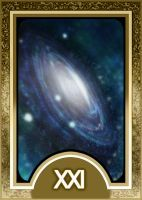 Persona 3 Tarot Card Deck HR - The Universe Arcana by Enetirnel
