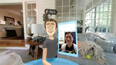 Zuckerberg: El futuro de la realidad virtual será social    Tener experiencias compartidas en VR con amigos familiares y  desconocidos y a la vez usar los apps de Facebook para conectarse es lo  que está por venir a través de la plataforma de Oculus VR.  La selfie que se tomó Mark Zuckerberg el  presidente ejecutivo de Facebook junto a su esposa y perro mientras él  estaba en realidad virtual. Su esposa llamó usando la función de  videollamadas de Facebook Messenger.  Hace seis meses Mark…