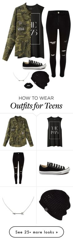 """Untitled #2762"" by if-i-were-famous1 on Polyvore featuring Converse, UGG Australia, Lime Crime, women's clothing, women, female, woman, misses and juniors"