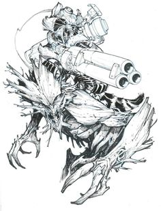 Groot and Rocket Raccoon by Eric Canete Comic Art