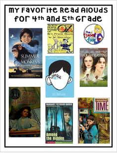 Read about some awesome  4th/5th grade books. My kids LOVE these!