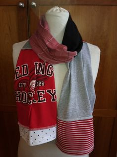 Detroit Red Wings Scarf