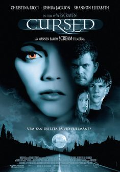 Cursed , starring Christina Ricci, Jesse Eisenberg, Portia de Rossi, Mya. A werewolf loose in Los Angeles changes the lives of three young adults, who, after being mauled by the beast, learn they must kill their attacker if they hope to change their fate to avoid becoming werewolves too. #Comedy #Horror #Thriller