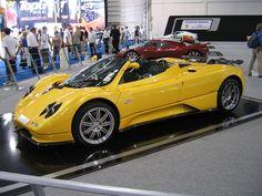 Zonda Roadster Yellow - Pagani Zonda - Wikipedia, the free encyclopedia Pagani Zonda, Koenigsegg, Maserati, Bugatti, Aston Martin Vanquish, Lamborghini Veneno, Most Expensive Car, Diesel Fuel, Maybach