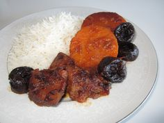 Khoresh'e Kadu Halvai  • خورش کدو حلوای   •  Butternut Squash Stew   Fae's Twist & Tango