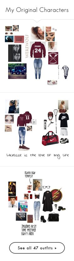 """My Original Characters"" by itsalyssianicole ❤ liked on Polyvore featuring adidas Originals, Effy Jewelry, NIKE, Jeffrey Campbell, MaxMara, Lime Crime, Casetify, Design Letters, Dr. Martens and Rear View Prints"