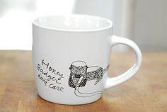 Honey Badger mugs.