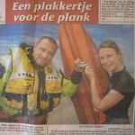 Be Traceable sticker voor kitesurfers