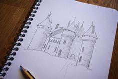 Sketch Castle by CroSito on DeviantArt Castle, Sketch, Deviantart, Sketch Drawing, Sketching, Sketches, Castles