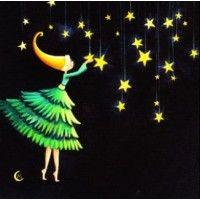 Carte Marie Cardouat La fée aux étoiles