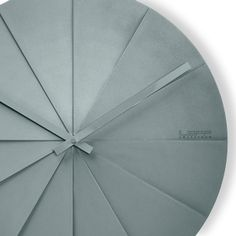 LEFF Scope45 Wall Clock, Grey
