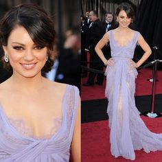 Mila Kunis in Lavender Evening Dress  Refreshing, Sweet, Perfect For her Body :)  http://www.elliotclaire.com/catalogsearch/result/?q=81061