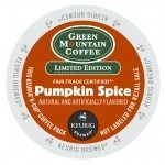 Fair Trade Pumpkin Spice Keurig K-cups