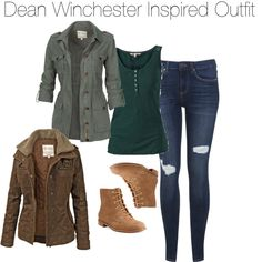 Here is Dean Winchester Outfit Gallery for you. Dean Winchester Outfit character dean winchester fandom supernatural buy it he. Supernatural Inspired Outfits, Supernatural Fashion, Supernatural Dean, Fall Outfits, Casual Outfits, Cute Outfits, Fashion Outfits, Emo Outfits, Fashion Boots