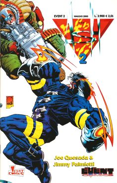 ASH 2, Joe Quesada (cover, pencils and story), Jimmy Palmiotti (inks and story) - Event Comics/Cult Comics, May 2000
