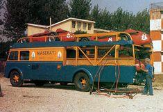 Vintage Maserati Transporter
