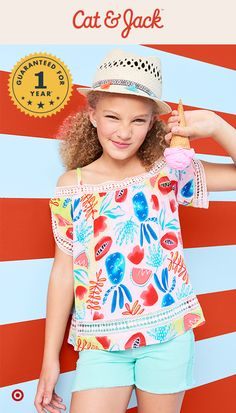 dc13e1ee31a Cat   Jack s summer collection makes cute outfits a total breeze. From  off-the
