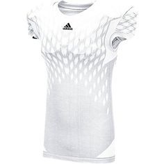 Adidas Mens Techfit Primeknit Football Jersey White, Size: XX, Wht Non Solid Tennessee Football, Football Girls, Adidas Football, Sport Football, Football Jerseys, Fall Football Outfit, Football Fashion, Football Outfits