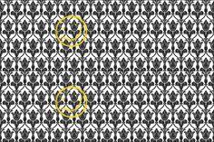 "Sherlock Wallpaper Panel 18x54"" fabric by fandomfabric on Spoonflower - custom fabric"