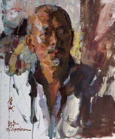 """Shirl Smithson Founders' Award for Master Signature Members $500 Funded by the Shirl Smithson Family. Kevin Macpherson OPAM """"Yi Shu Jia"""" $8,500 20"""" x 16"""""""