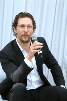 Oh hey there, Matthew McConaughey! See more stars at Cannes on Wonderwall: http://on-msn.com/1nPAx7K