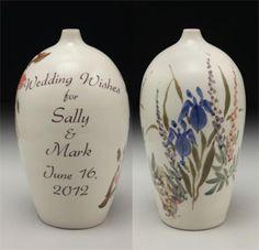 Wedding Wish Vase© Garden-Personalized | Made on Hatch.co