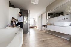 Die 17 besten Bilder von Parkett im Bad | Bathroom, Guest toilet und ...