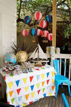 Elgan S Emporium Party In A Box Around The World Theme Balloon