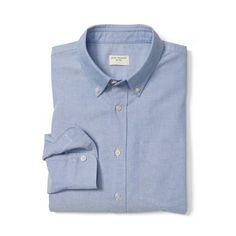 Slim-Fit Oxford Shirt - Slim Fit Casual Shirts at Club Monaco