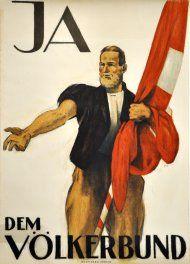 Ja dem Völkerbund - 1920