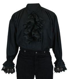 Byron Shirt - Black