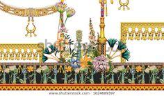 Ilustración de stock sobre Digital Textile Design Flowers Leaves 1624689397 Textile Prints, Textile Design, Textiles, Art Prints, Architecture Drawing Sketchbooks, Hydrangea Bouquet Wedding, Abstract Flowers, Abstract Art, Botanical Flowers