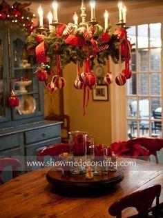 love this chandelier decoration