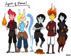 Aaa: The Legend of Fionna