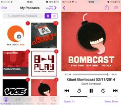 podcasts1 9 of the best podcast apps for the iPhone and iPad