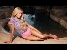 Cosmopolitan Cover Shoots with Paris Hilton - YouTube