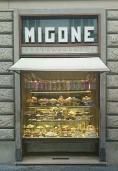 A Sweet Shop I went to twice in Florence, it was a bit of colour and happiness among the drab of the city