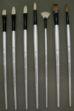 The Brush Guys: Simply Simmons Oil & Acrylic (Long Handle)