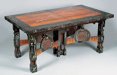 Carlo Bugatti, Large extension table