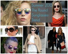 TREND ALERT: ROUND BOLD STATEMENT SUNGLASSES