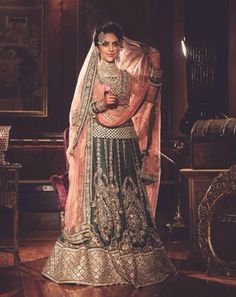 5 Drool Worthy Lehengas By Sabyasachi - Best collection of bridal lehenga Sabyasachi designs and collection Pakistani Outfits, Indian Outfits, Indian Clothes, Bridal Outfits, Bridal Dresses, Desi Wear, Indian Fashion Designers, Asian Bridal, Bridal Lehenga
