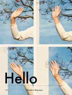 And then we'll start waving Goodbye!