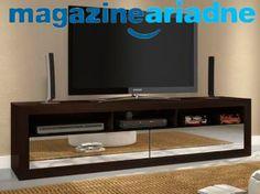 Rack para TV Búzios 2 Gavetas com Espelhos www.magazineariadne.vai.la