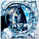 Michael Kagan's Space-Based Paintings Explore the Fatalistic Power of Manmade Machinery