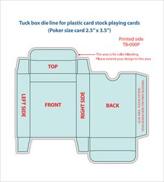 Free Sample Example Format Premium Templates Playing Card