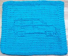 DigKnitty Designs: Mini Car Knit Dishcloth Pattern