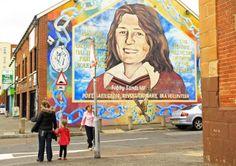 Murales de Belfast y Derry